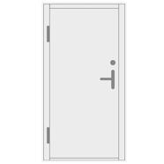 Šarvuotos metalinės lauko durys