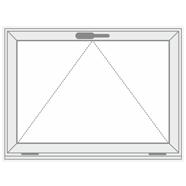 Atverčiamas plastikinis langas