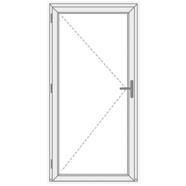 Vidinės plastikinės durys