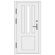 Šarvuotos lauko durys namui