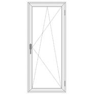 Balkono plastikinės durys