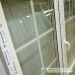 Dekoratyviniai padalijimai 18 mm stiklo paketo su plastikiniu rėmeliu viduje