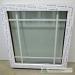 Nevarstomas plastikinis langas su dekoratyviniais padalijimais 18mm