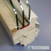 Euro 78mm mediniai langai profilis su 3 stiklų stiklo paketu