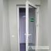 Plastikinės vidinės durys su stiklu