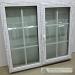 Plastikinis langas dvi dalys viena varstoma su plastikiniu rėmeliu ir dekoratyviniais padalinimais