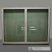 Plastikinis nevastomas langas iš dviejų dalių