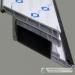 Plastikinių durų profiliai metalas armuotė kvadrato formos