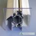 Horizontali orlaidė montuojama plastikinio lango stiklo paketo viršuje