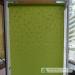 Roletai šviesiai žalia spalva be kreipiančiųjų