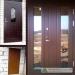 Šarvuotos durys su atspindinčiu stiklu