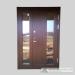 Šarvuotos dviverės durys namui
