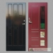 Šarvuotų lauko durų pavyzdžiai